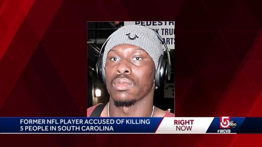 Former Patriot player accused in SC mass shooting