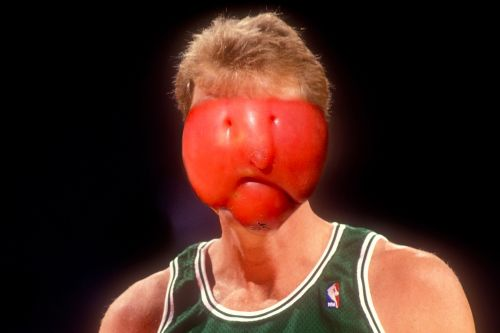 Larry Bird looks just like this tomato