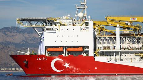 Turkey's drill ship 'Fatih' begins operations off NE Cyprus - vice president