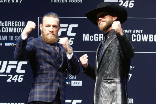 Is boxing on the horizon again for Conor McGregor? Dana White not thinking about that right now