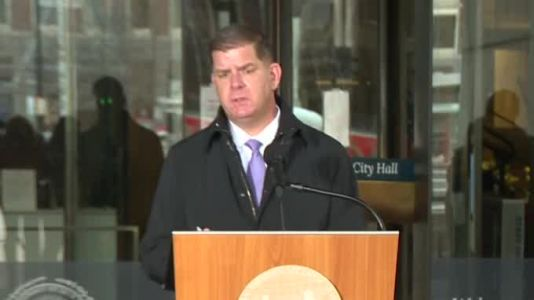 LIVE: Mayor Walsh update on Boston's coronavirus response