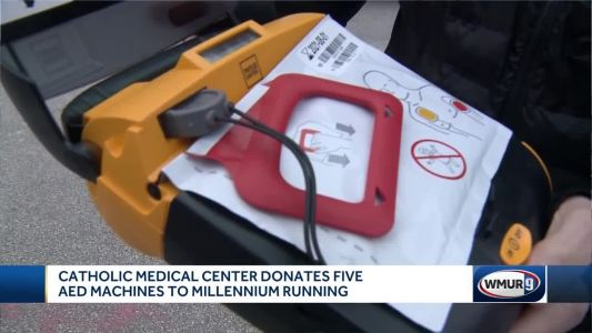 CMC donates AEDs for use along race routes