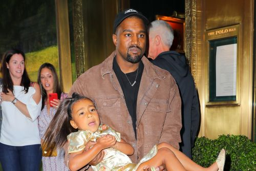 Kanye West has banned daughter North from wearing makeup