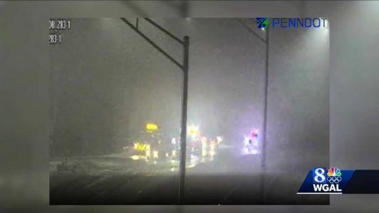 Multi-vehicle crash on Route 283 in Dauphin County