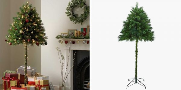 Half-Christmas trees are here to keep your pets from ruining Christmas