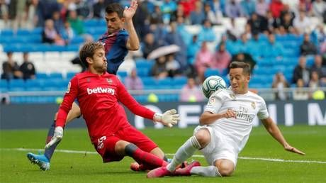 Soccer-Levante's election pain as keeper called up to work at polling station