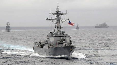 Beijing urges Washington to end 'provocative actions' in South China Sea after US warships conduct 'freedom of navigation' mission