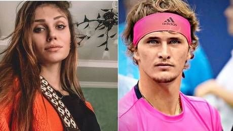 'He tried to strangle me with a pillow': Ex-girlfriend of tennis star Zverev accuses him of abuse