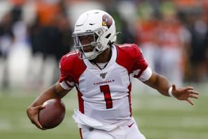 Kyler Murray leads Cardinals to 1st win, 26-23 over Bengals