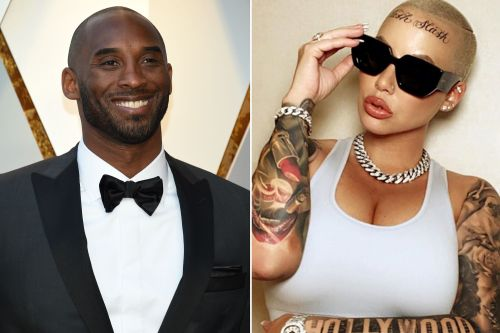 Amber Rose says Kobe Bryant's death inspired her forehead tattoo