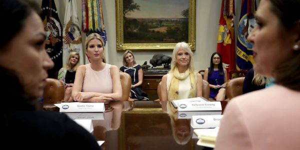 Ivanka Trump, Kellyanne Conway, and other top Trump aides have had their White House offices relocated to remove potential asbestos