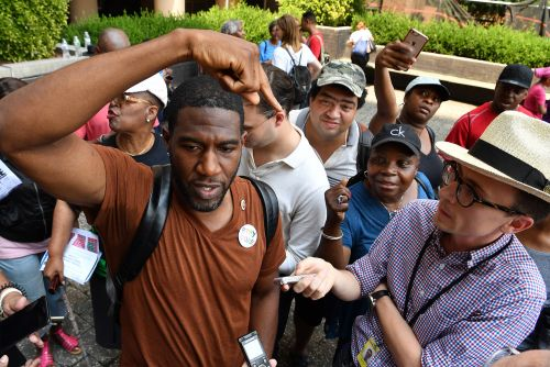 Embattled Jumaane Williams gets testy with reporters