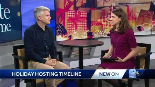 'Taste of Home' has tips on de-stressing holiday hosting