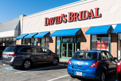 What David's Bridal's bankruptcy plan means for worried brides