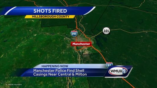 Manchester police find shell casings near Central and Milton streets