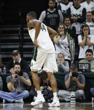 No. 11 Michigan State forward Nick Ward sprains ankle