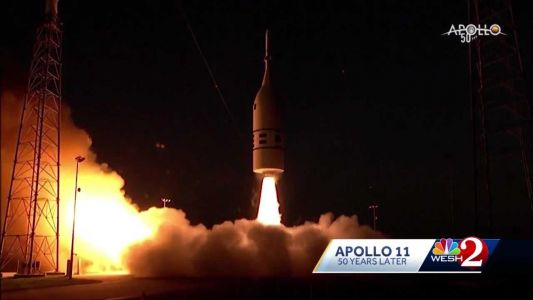 Woman leads launch team for return to the moon