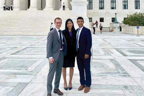 Stanford law students help win landmark Supreme Court case