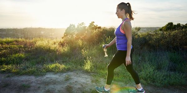 Walking is a better way to burn body fat than high-intensity running