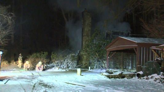 Fire and ice: Flames destroy home in Westmoreland County