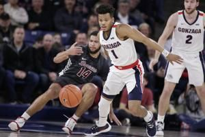 Ayayi leads No. 1 Gonzaga over Santa Clara 104-54