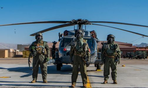 DoD tests CBRN aircrew protective suit upgrade at Nellis AFB
