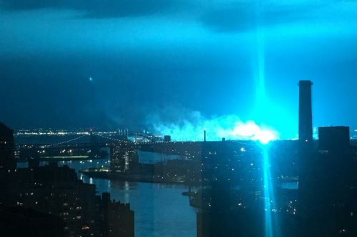 Cops couldn't hide their shock during transformer explosion: 'It doesn't look good'