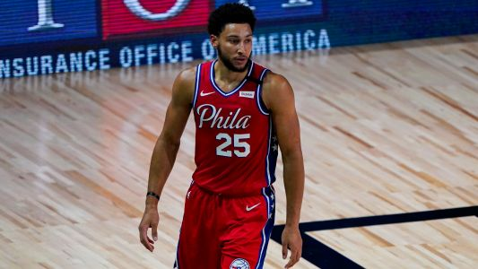 76ers' Brett Brown 'very curious' about Ben Simmons' knee injury