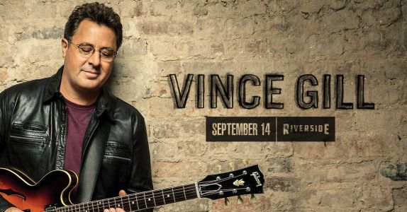 Country music star Vince Gill to play Riverside Theater