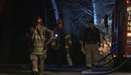 Rye fire department responds to brush fire