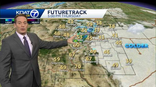 Quick-hitting storm brings snow and rain chance today