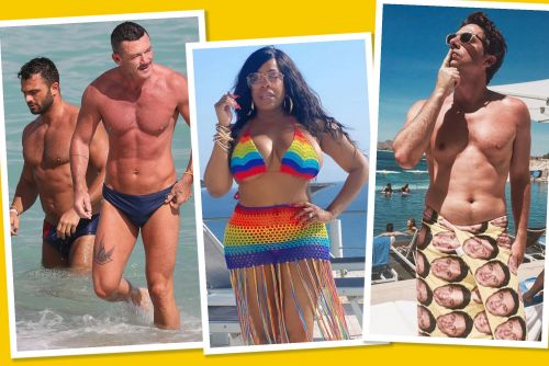 Best star snaps of the week: Celebs strip down and get out of town