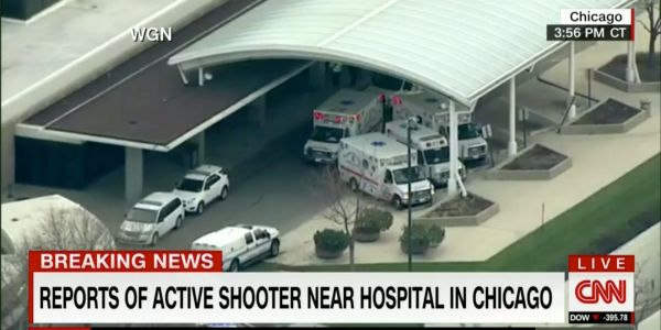 There are reports of multiple victims after a shooting at Chicago's Mercy Hospital