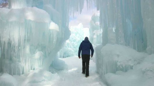 Tuesday, February 25th: The New Hampshire Ice Castle