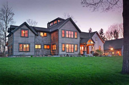 Mansion Monday: A stunning modern farmhouse in Candia