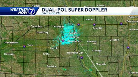 Dry afternoon in the metro, isolated storms possible south