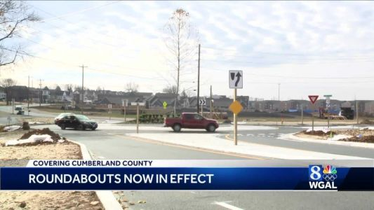 Lower Allen Township roundabouts open