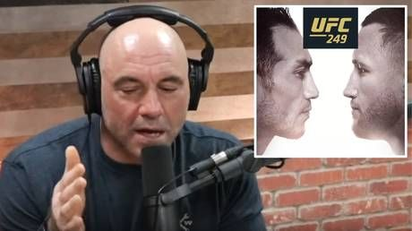 'There's no social distancing in a f*cking cage fight!' Joe Rogan unsure whether he's commentating UFC 249