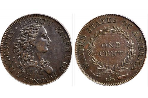 'First American cent ever' to be auctioned for over $1M