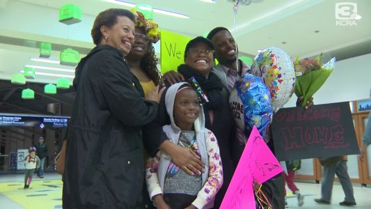 Welcome home, sailor! Woman returns to Sacramento after 5 years overseas