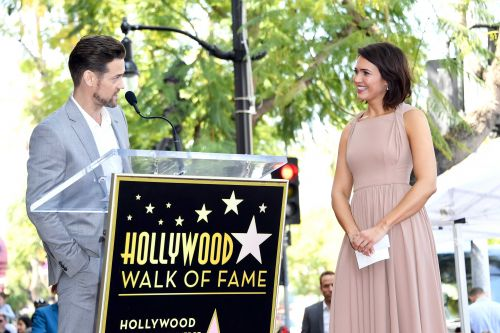 Mandy Moore reunites with 'A Walk to Remember' costar Shane West at her Walk of Fame ceremony