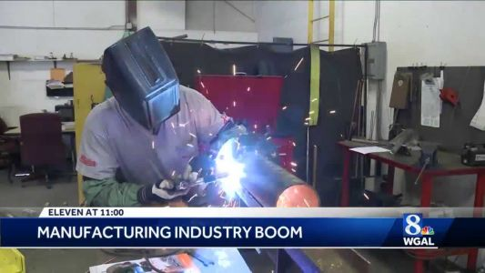 Employment agency says manufacturing jobs are booming