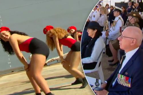 Outrage over twerking dancers at Australian military ceremony