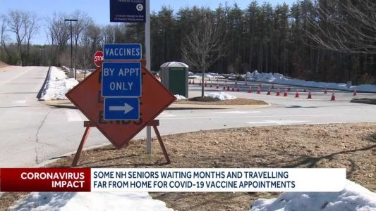 Some NH seniors waiting months, travelling far from home for vaccine appointments