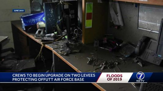 Crews to begin levee upgrades at Offutt Air Force Base