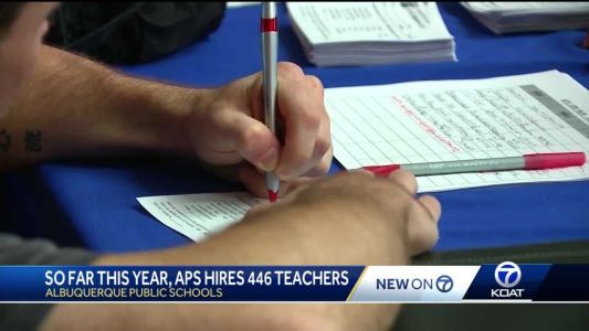 APS hires 447 new teachers this year, but still needs more
