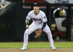 """D-backs' Lamb """"ready to go"""" after transition from 3rd to 1st"""