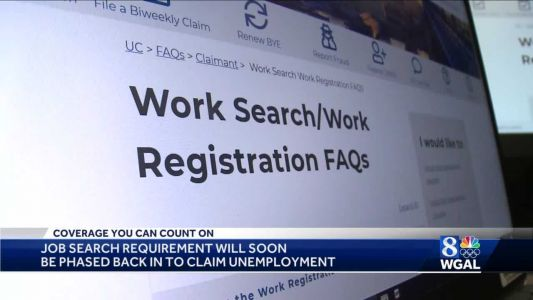 Pennsylvania may bring back job search requirement for unemployment benefits