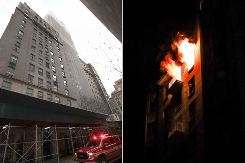 Elderly couple killed in blaze at high-end Manhattan building