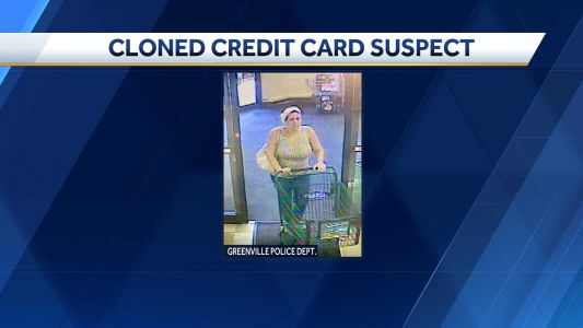 Greenville police searching for accused credit card cloner